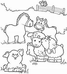 20 free printable farm animal coloring pages
