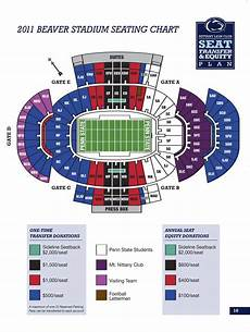 Shorts Stadium Seating Chart 2011 Beaver Stadium Seating Plan Revealed Onward State