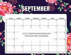 Free Printable September Calendar Free Printable September 2019 Calendar 16 Awesome Designs