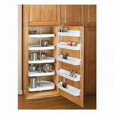 kitchen cabinet organizer 5 shelf white lazy susan storage