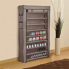 10 layer shoe boot rack shelf 45 pairs storage closet