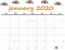 2020 Jan Calendar January 2020 Printable Calendars And Tips On We Heart It