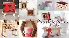 diy basteln top 10 diy popsicle stick craft compilation craft ideas