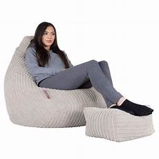 lounge pug ivory bean bag chairs gaming chair beanbag uk