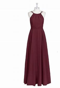 Azazie Dress Size Chart Azazie Cabernet Chiffon Melinda Formal Bridesmaid Mob