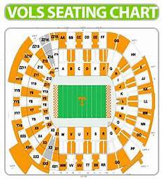 Tennessee Vols Football Seating Chart Volunteers Tickets Volunteers Football Tickets