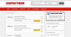 Html Coupon Template Coupon Website Templates Word Excel Samples