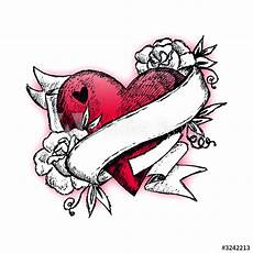 Heart With Ribbon Designs Brungki Heart Ribbon