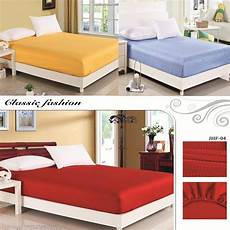 cheap luxury satin silk fitted bed sheet elastic
