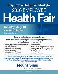 Microsoft Health Benefits Ms 10259 Msmc Employee Health Fair Poster 2016 Mount