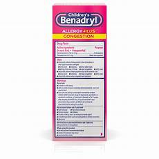 Vetguard Plus Dosage Chart Children S Benadryl Allergy Plus Congestion Dosage Chart