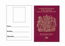 Passport Template Download Passport Template By Torstout Teaching Resources Tes