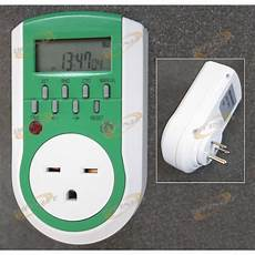 Grow Light Timer Controller Digital 7 Days 240v Timer Plug In Outlet Grow Light Fan