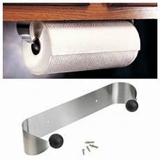 prodyne paper towel holder rack cabinet stainless