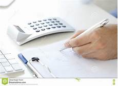 Calculating Expenses Calculating Expenses Stock Image Image Of Financial