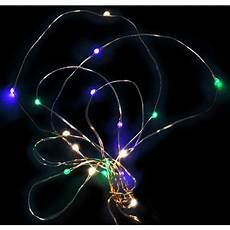 Battery Operated Mardi Gras Lights 6 Battery Led Submersible Light Strand Pgg 56760