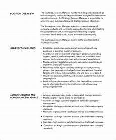 Account Manager Job Description Sample Free 10 Sample Accounting Manager Job Description