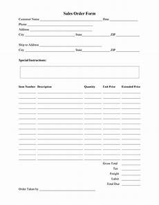 Change Order Form Template Free 40 Order Form Templates Work Order Change Order More