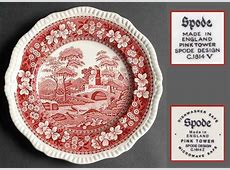 Spode Tower Pink (Newer Backstamp) at Replacements, Ltd