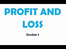 Profit And Basic Profit And Loss Session 1 For Kids Youtube
