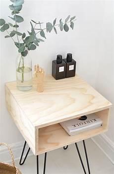 diy mid century nightstand burkatron