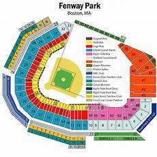 Fenway Park Seating Chart Fenway Park Seating Chart Views And Reviews Boston Red Sox