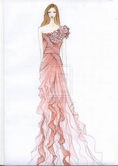 fashion design sketches of dresses 2016 2017 fashion
