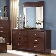 sol nc kensington 6 drawer dresser and vertical mirror