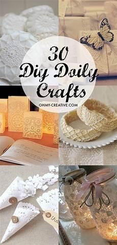 30 diy doily crafts oh my creative