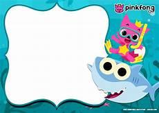 Baby Birthday Invitation Templates Free Printable Baby Shark Pinkfong Birthday Invitation