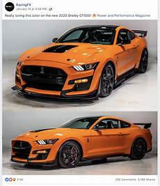 2019 the ford mustang svt gt 500 through my lens orange 2020 ford mustang shelby gt500