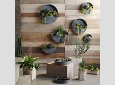 Akari Natural Wood Indoor Planter Pots: NOVA68.com