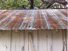 Shed Roof Tin Roof On A Tool Shed The Cavender Diary