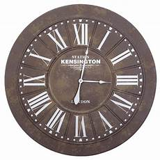 home decor clocks yosemite home decor 39 5 in x 39 5 in circular iron wall
