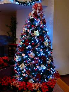 Christmas Tree With White Lights Candy Cane Christmas Tree With White Led Lights An