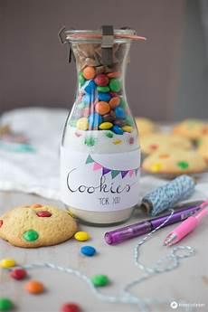 kleine geschenk cookies im glas verschenken geschenkidee aus der k 252 che