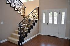 home interior railings wrought iron stair railings for creating awesome looking