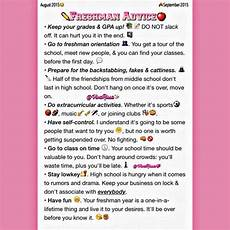 Tips For High School Freshman I Wish I Had This Before I Started My Freshman Year But
