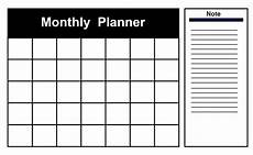 Best Monthly Planner Download Free Monthly Planner Templates Pdf Excel Word