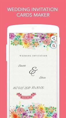 Free E Invitation Maker Wedding Invitation Cards Maker For Android Free Download