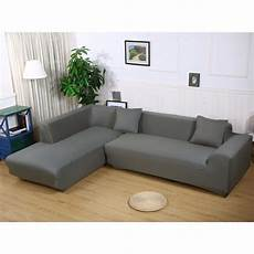 Cover For Sectional Sofa 3d Image by L Shape Stretch Elastic Fabric Sofa Cover Sectional
