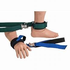 humane restraint polypropylene limb holder limb holders