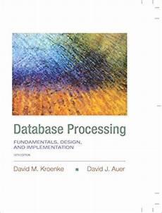 Database Processing Fundamentals Design Implementation Test Bank For Database Processing Fundamentals Design