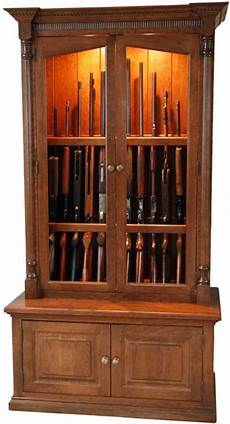 amish handcrafted and custom gun cabinets and pistol displays