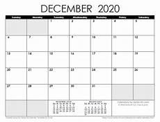 Calendar January December 2020 2020 Calendar Templates And Images