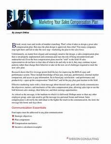 Sales Compensation Plan Template 14 Sales Compensation Plan Template Examples Pdf Word