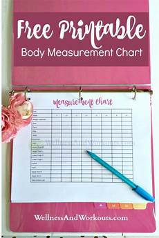 Free Printable Body Measurement Chart Free Printable Body Measurement Chart Body Measurement