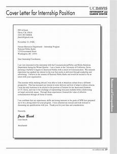 Cover Letter Internship Template 16 Best Cover Letter Samples For Internship Wisestep