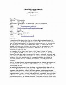 Memo Finance Acc 380k 7 Financial Statement Analysis