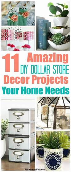 11 diy dollar store home decorating projects a cultivated